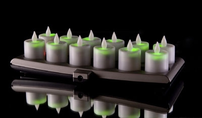 12-piece Flameless Smart Candle Evolution Set