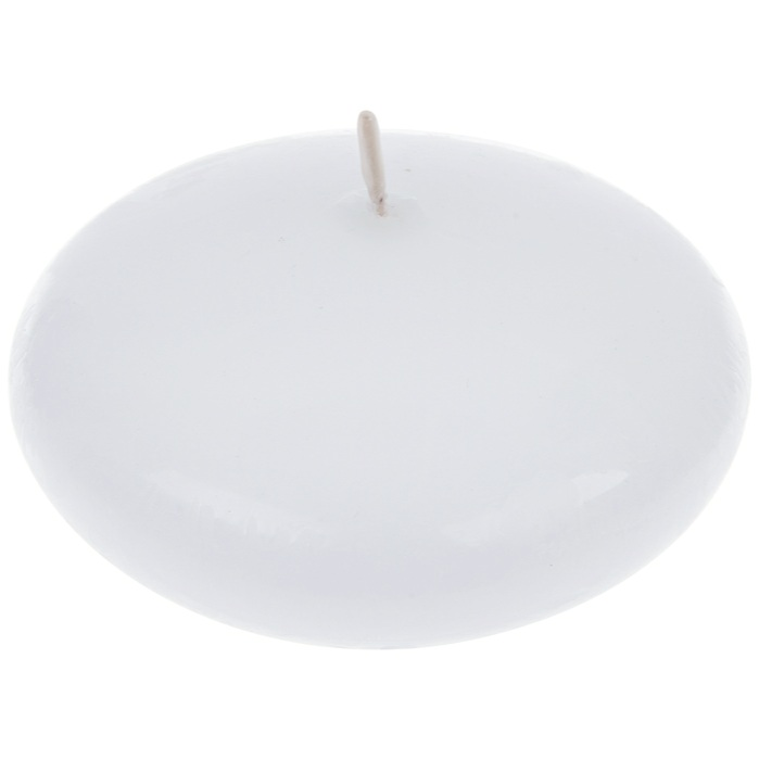 Unscented White Floating Candle (24pcs)