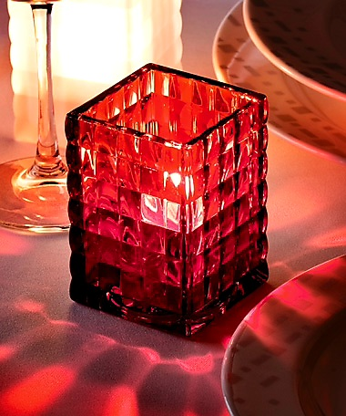 Square  Optic/Jewel Block Lamp	 (4pcs)