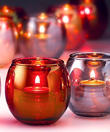 Small Glass Tealight Bubble