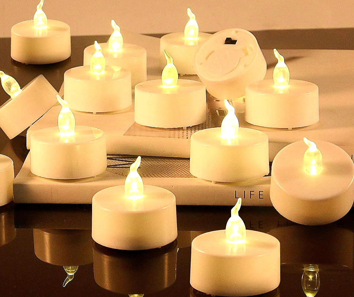 288pcs LED Tea Light Candle With Flicker