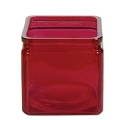 4.75 inch SQUARE DARK RED (12pcs)