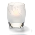 Arctic Jewel Linen Candle Holder