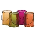 6.75 INCH ROUND MULTI COLORS CANDLE (12pcs)
