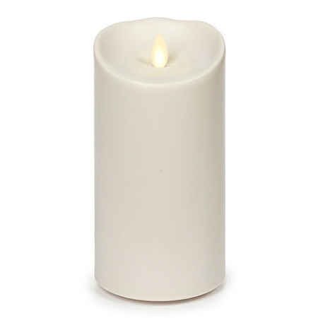 7 Inch Ivory Luminara Flameless  Outdoor Candles