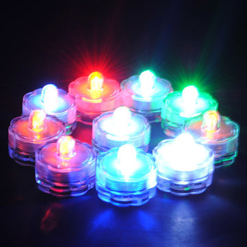 Submersible Tea-Light with Remote (10pcs/pk)
