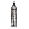 30inch Black Metal Cage Candle Holder( 1pc)