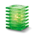 Lime Green Stacked Square Holder