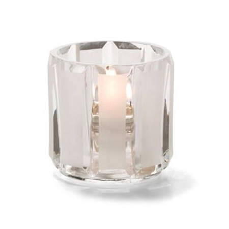Crystal and Satin Candle Holder