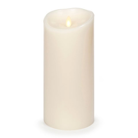 9 Inch Ivory Luminara Flameless  Candles