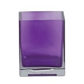 4.75 inch SQUARE DARK PURPLE (16 pcs)