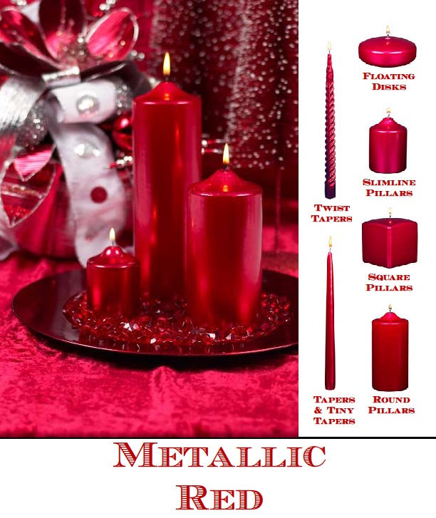 Red Pillar Candles Are Versatile! Everyone Should Have At Least One Red Candle At Home