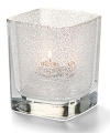 CLEAR JEWEL TETRA GLASS VOTIVE LAMP