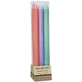 12 Inch Spring Bouquet Taper Candle  (6pcs)