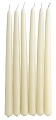 18 Inch Ivory Taper Candle (144pcs/cs)