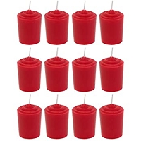 12 Hour Red Votives (36pcs)