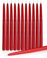15 Inch Red Taper Candle