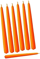 18 Inch Orange Taper Candle (144pcs/cs)