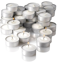 5 Hour Bulk Tealights  (500pcs/cs)
