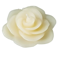 Ivory Rose Floating candles (12pcs)