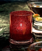 Glass Votive Column Holder