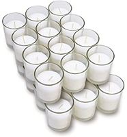 Pre-Filled Unscented Votive  Candles (25pcs/cs)
