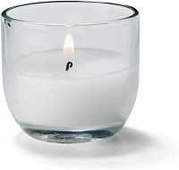 8 Hour Caterlite Disposable Candle in Clear Glass (48pcs)