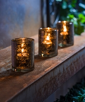 Traditional Cylinder Tea-light Holders