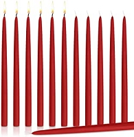 24 Inch Red  Taper Candles (144pcs/cs)