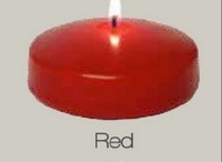 3 Inch Red floating candles (24pcs)