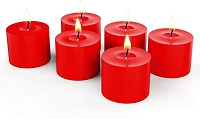 10 Hour Red votives (288pcs)