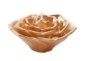 3inch  Gold Metallic Floating Rose Candles (12pcs)