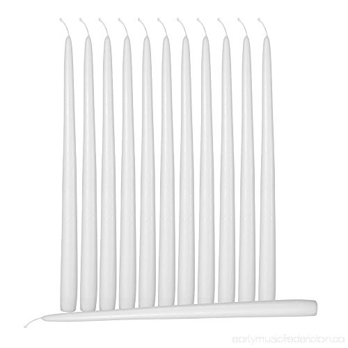 12inch White Taper Candle (144pcs/cs)