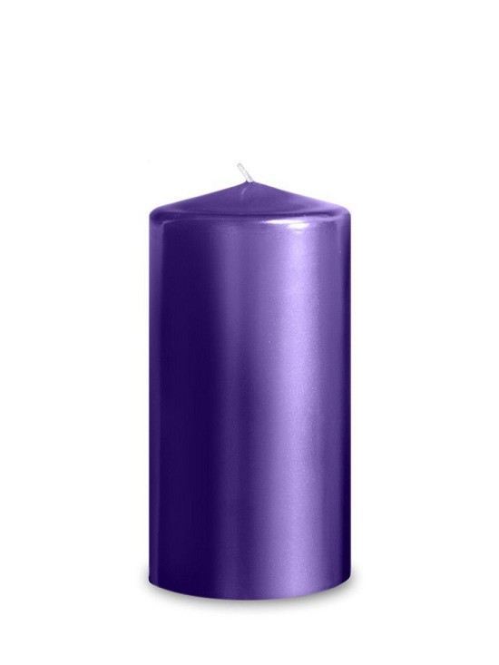 Purple Metallic Pillar